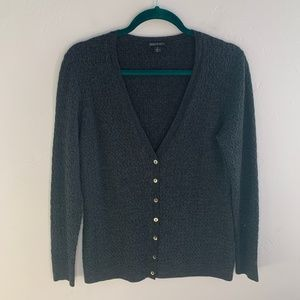 Lafayette 148 New York Wool Cable Knit Cardigan S